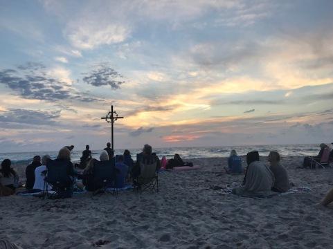 Sunrise for Easter Sunday!